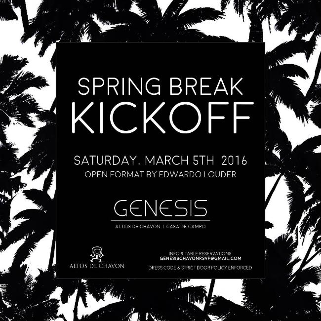 Spring Break Kickoff