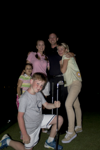Family Night Golf