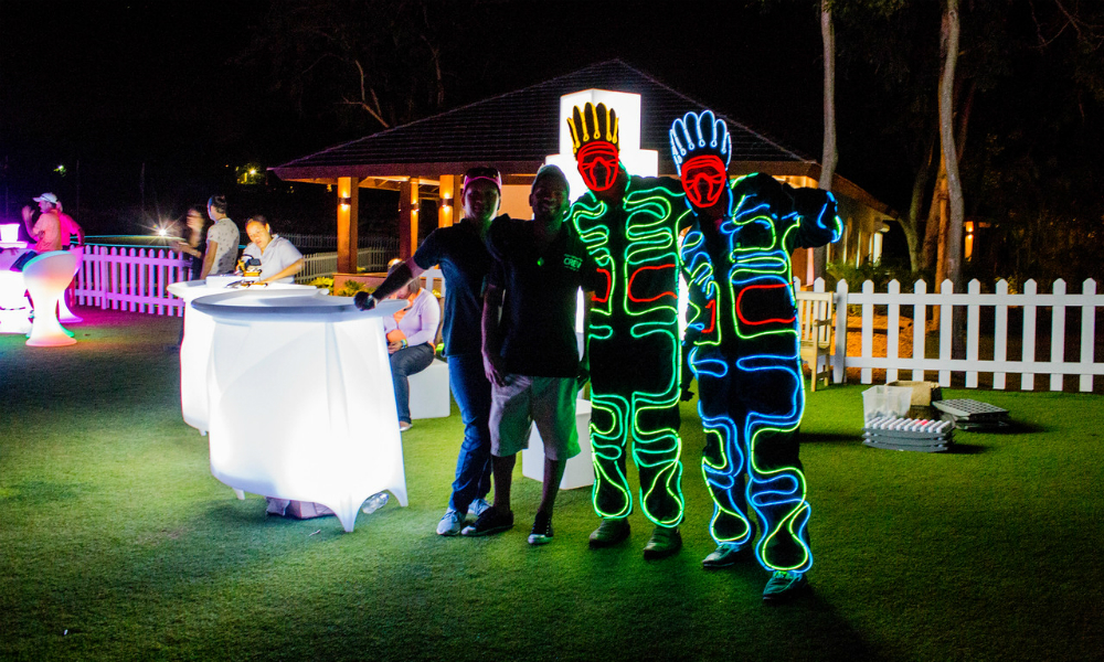 Night Golf Light Costumes