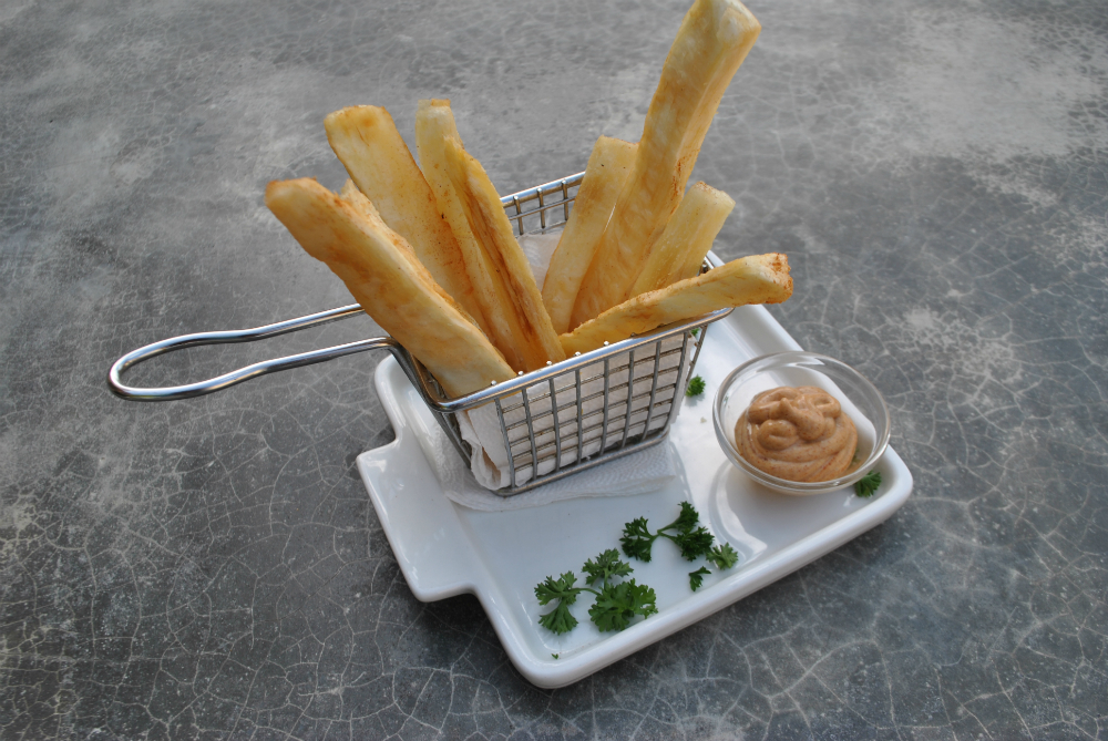 Yuca Fries Spring Dishes in Fresh Fresh