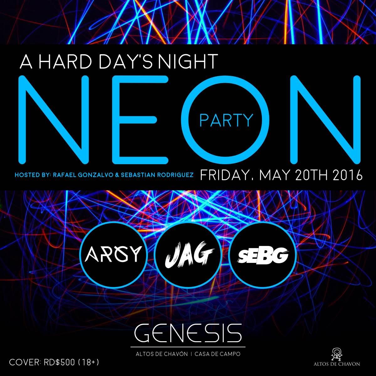 A Hards Day Night Genesis Nightclub May 2016