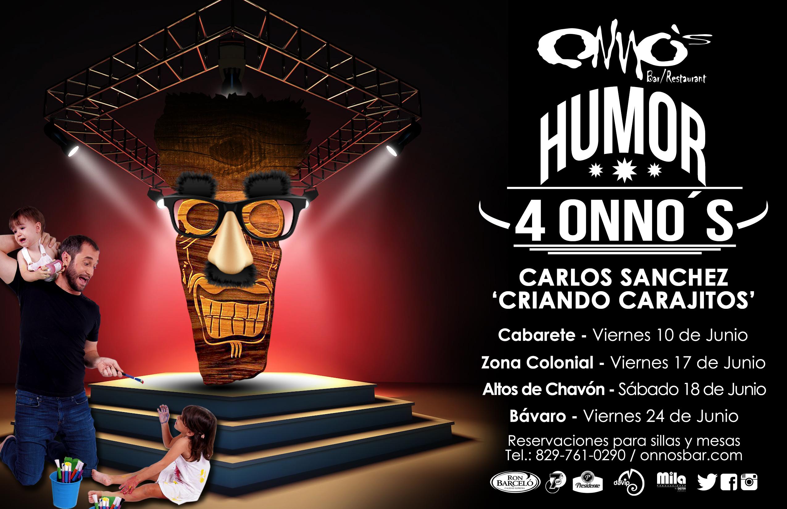 Carlos Sancrez Criando Carajitos Flyer