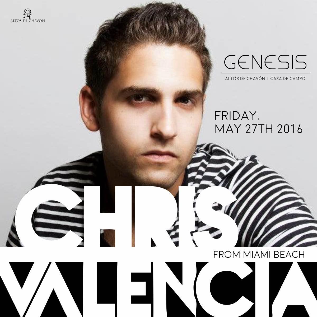 Chris Valencia Friday Flyer Genesis