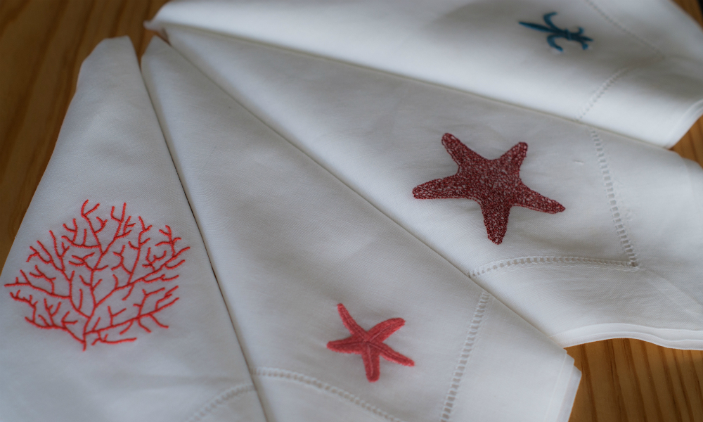Embroidered Handkerchiefs Boutique de Bordado Mother's Day
