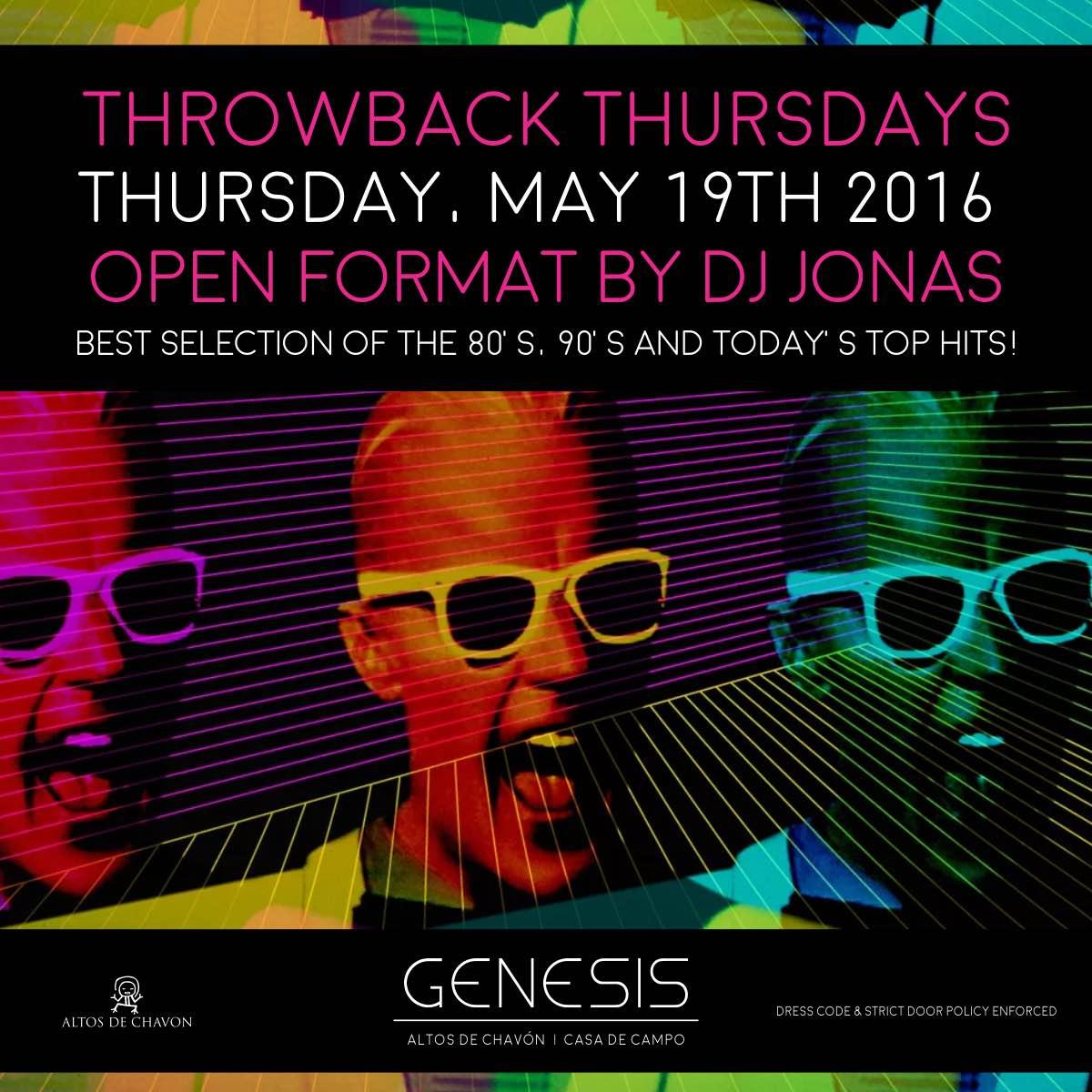 Throwback Thursday at May 2016