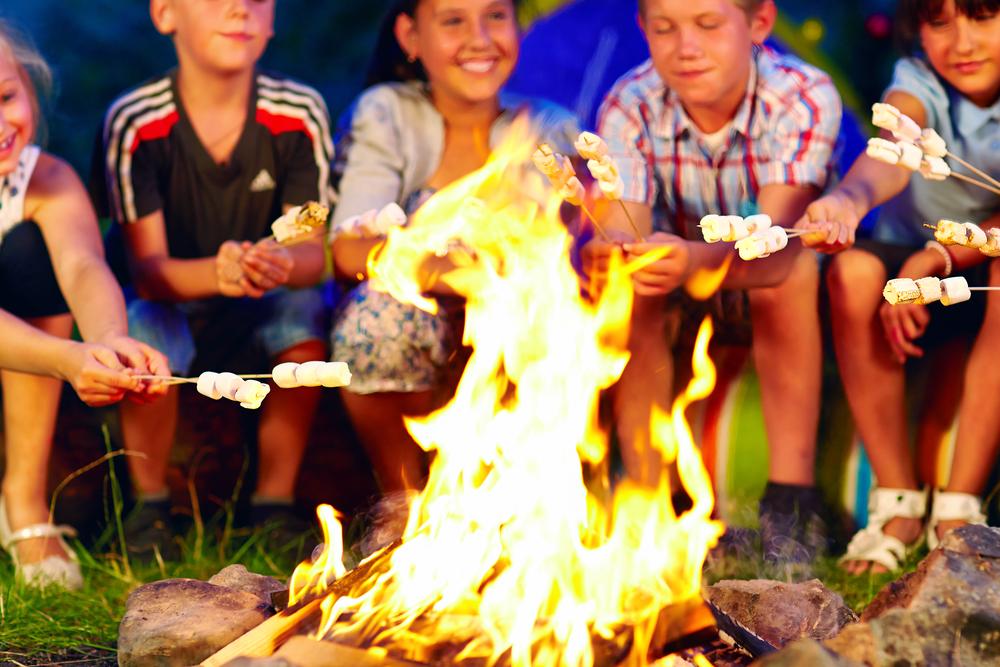 Ki-Ra Kids bonfire