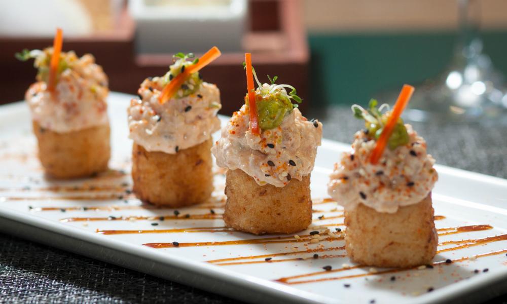 Crispy Sesame Rice Simon Mansion Food Review