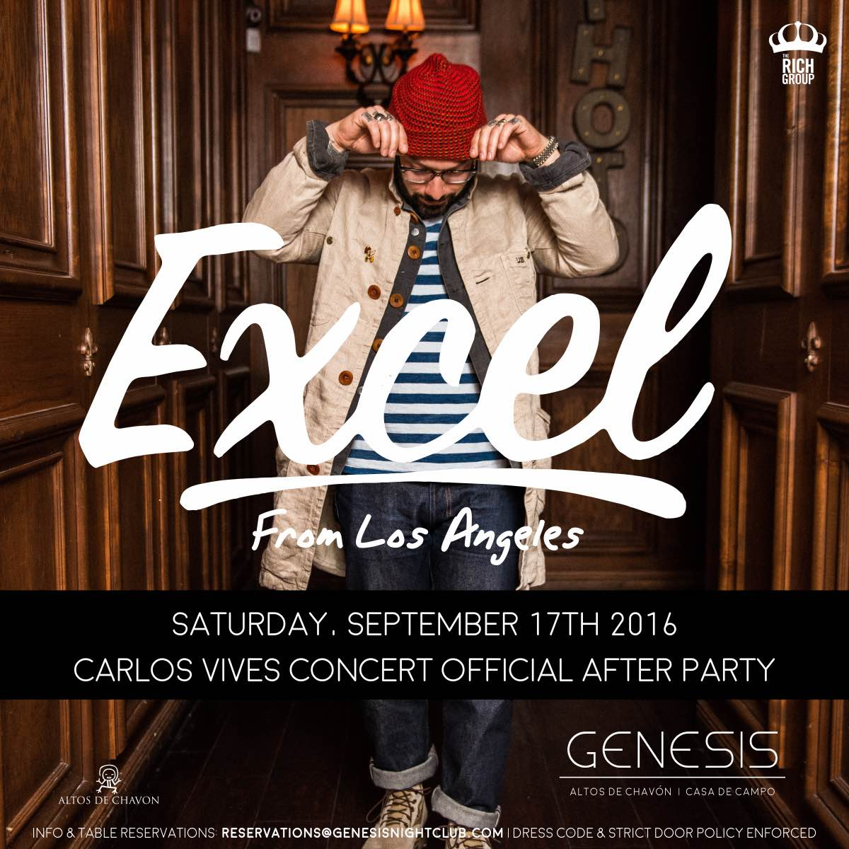 DJ Excel Carlos Vives Afterparty at Genesis Nightclub