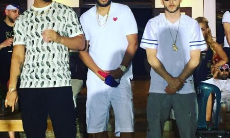 Drake, French Montana and Noah Shebib