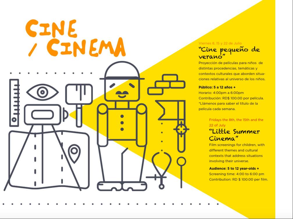 Little Summer Cinema Flyer