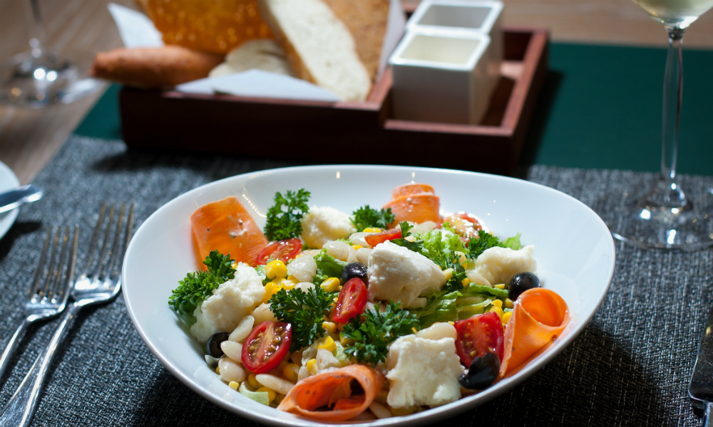 Solterito Salad Simon Mansion Food Review