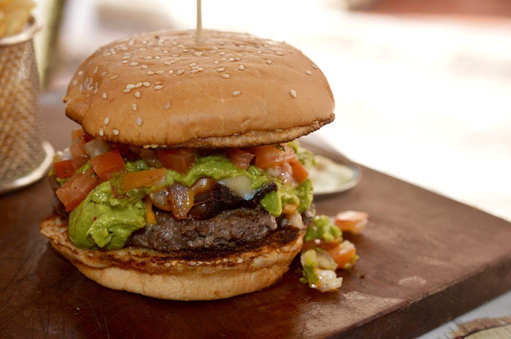 Text Mex Burger