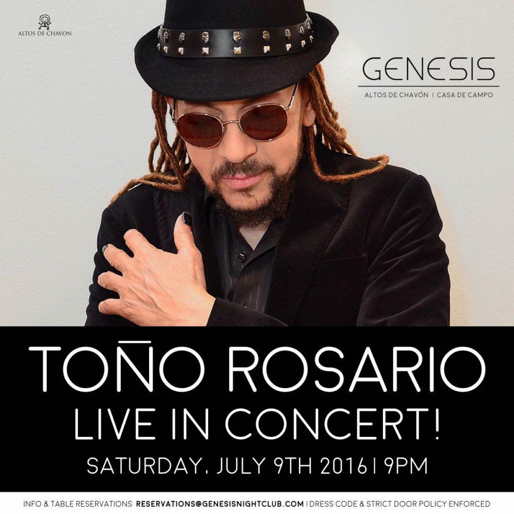 Toño Rosario Genesis Nightclub
