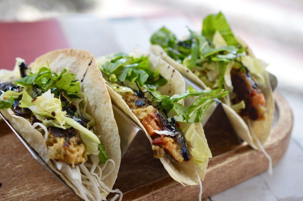 -Veggie Tacos
