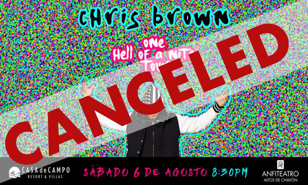 Chris Brown Canceled