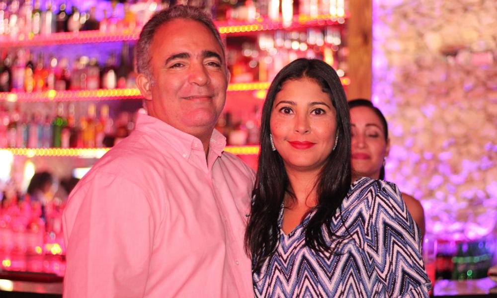 Couple Tono Rosario at Genesis Nightclub