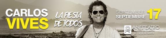 Carlos Vive Flyer