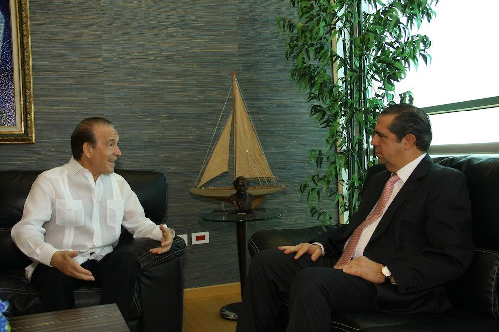 Claudio Silvestri and Francisco Javier García. Picture from puertoplatahabla.com