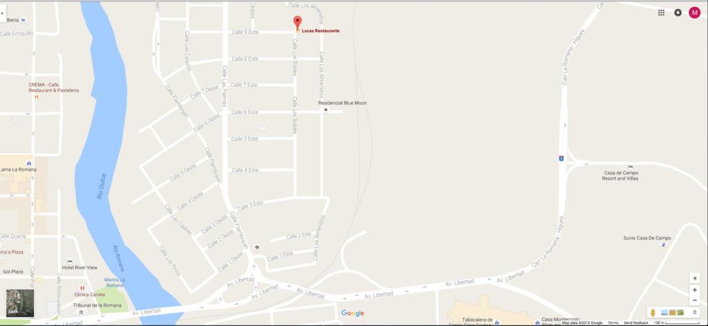 Lucas Map