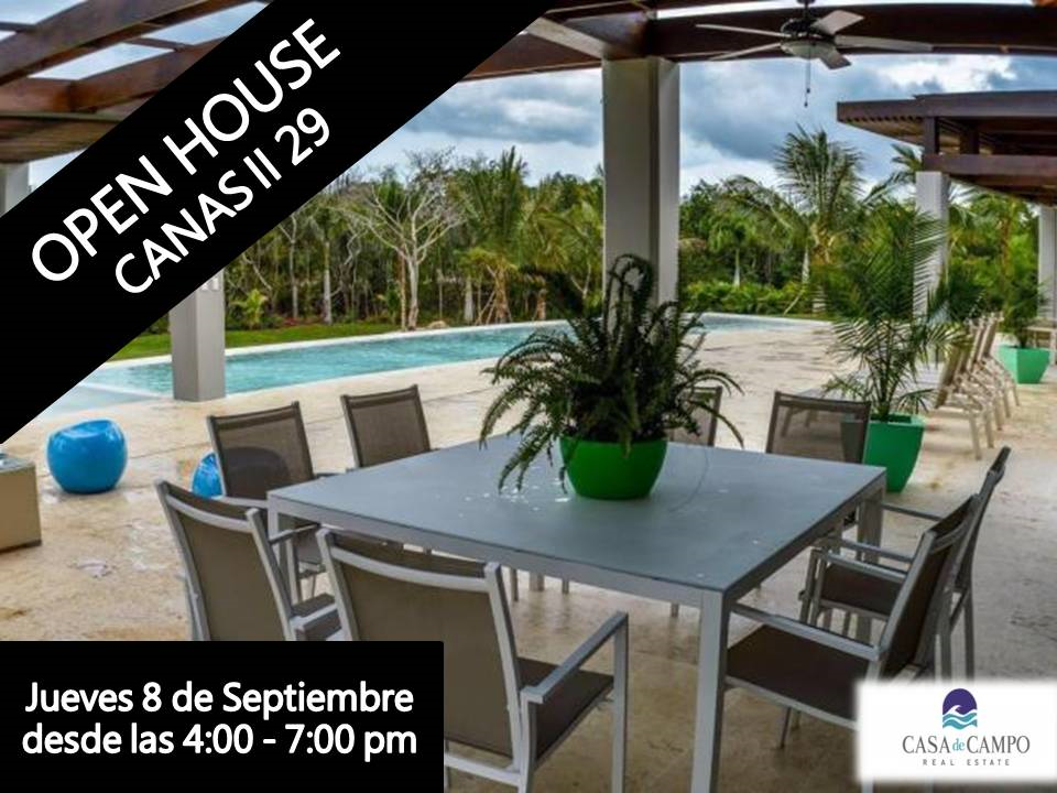 Canas II 29 Open House