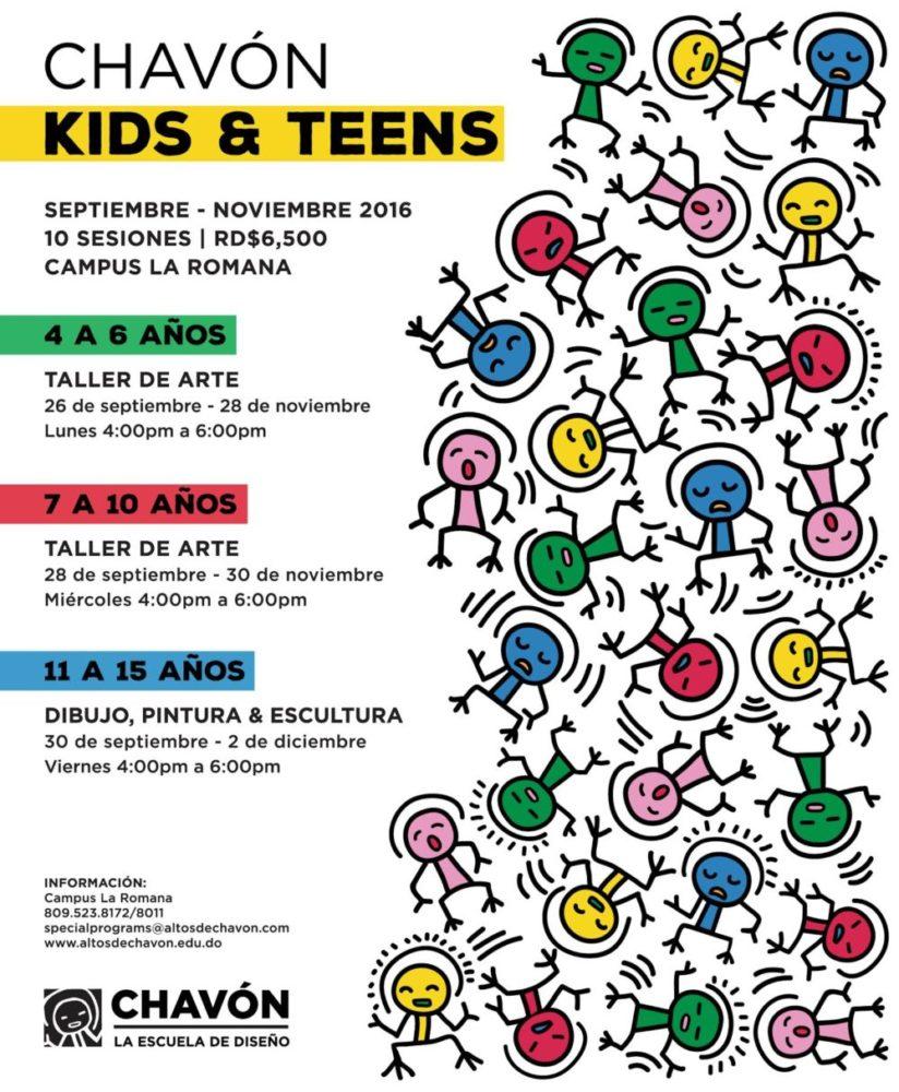 Chavón Kids & Teens courses