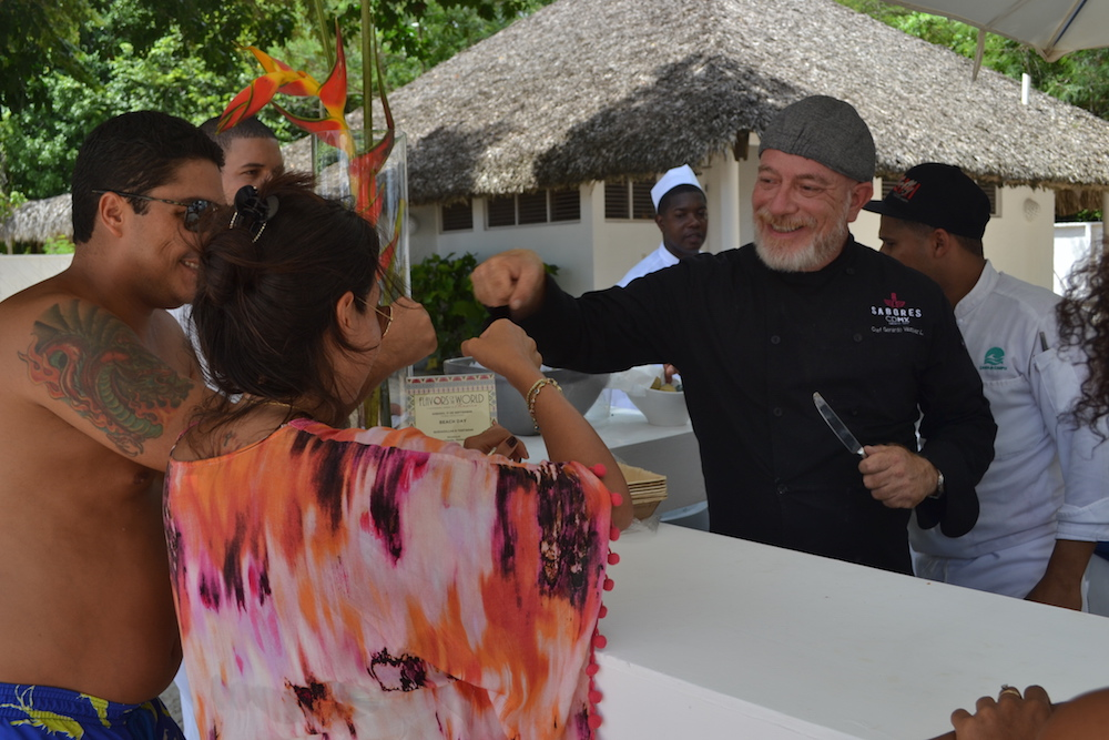 Flavors of the World Minitas Beach Party