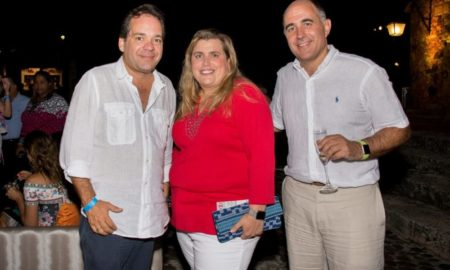 Jose Antonio Lara, Lyanne Azqueta and Fabricio Schettini