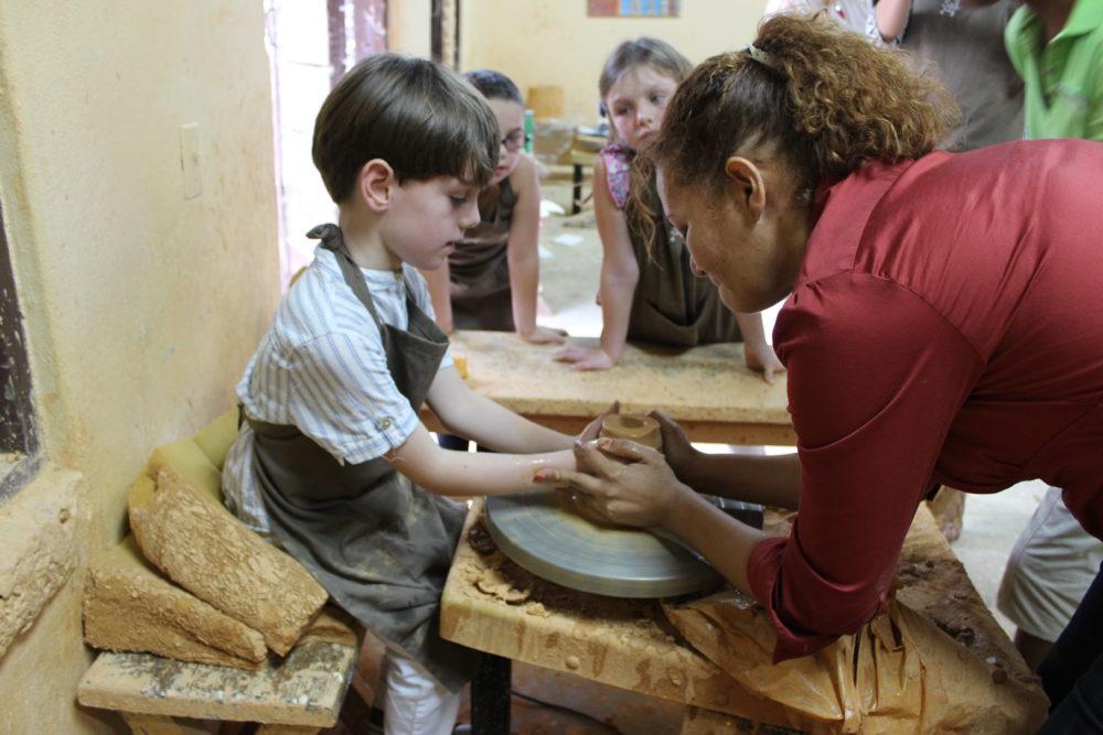 Pottery classes Chavón