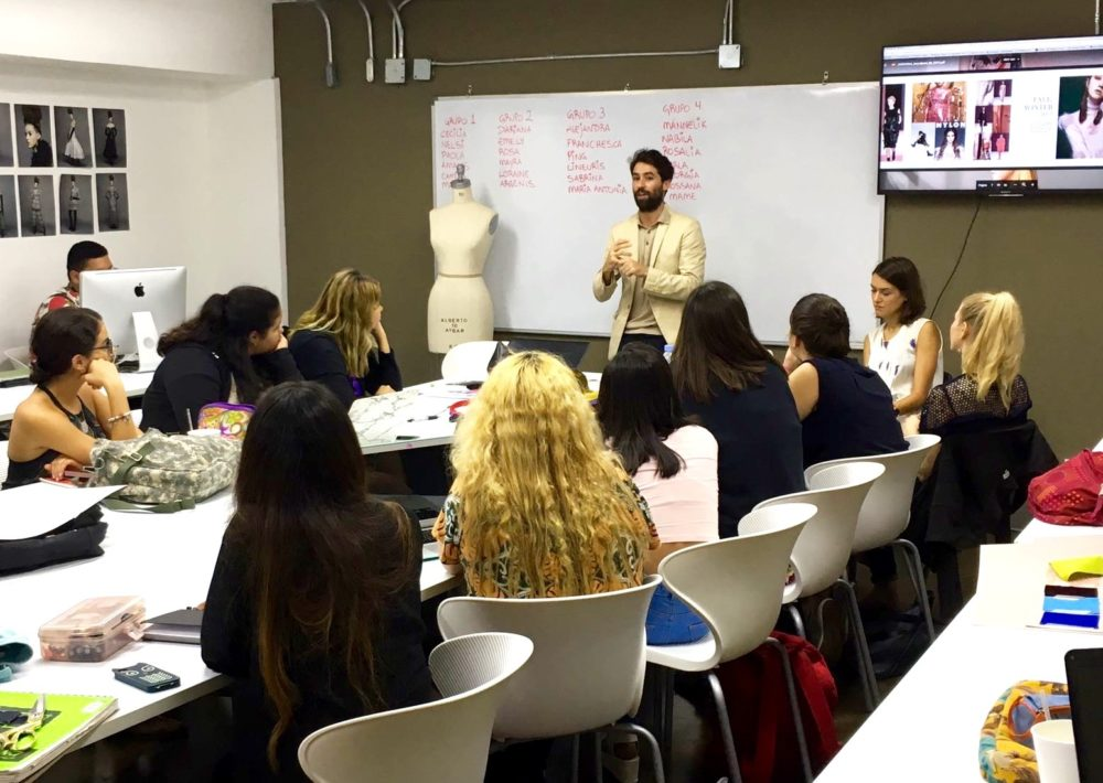 Fashion Designer Juan Vidal Visits Chavón