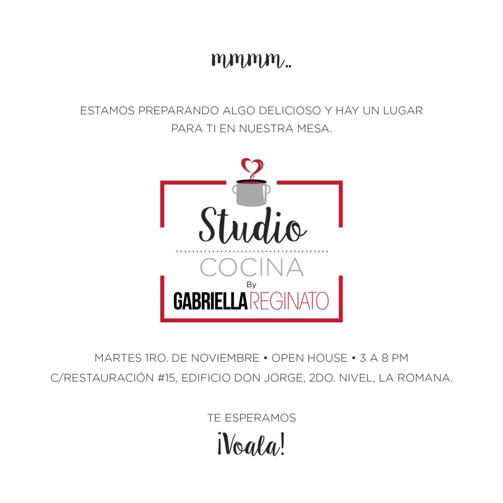 Gabriella Reginato Studio Opening