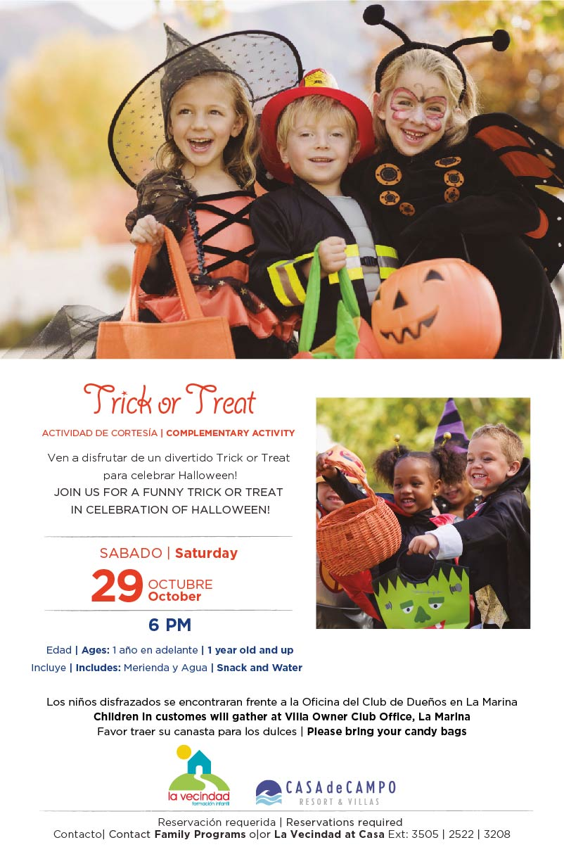 Trick or Treat Casa de Campo