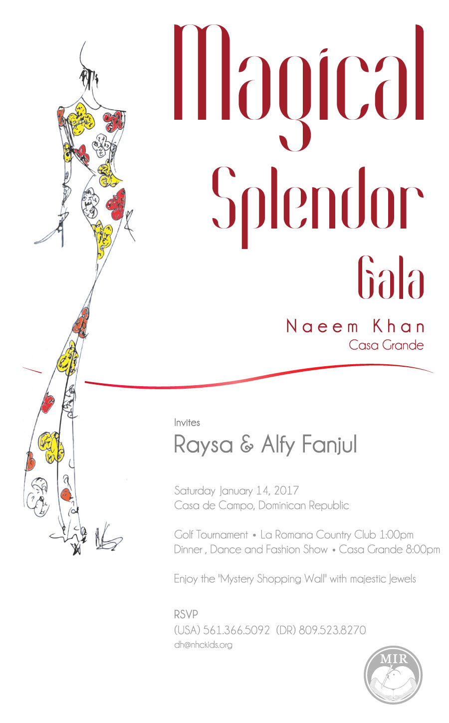 Magical Splendor Gala Save the Date 2017