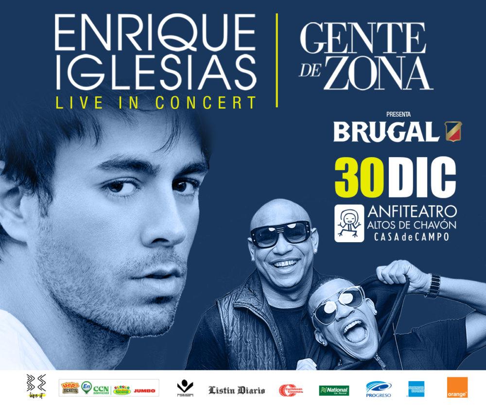 Enrique Iglesias l Gente de Zona Concert Altos de Chavón