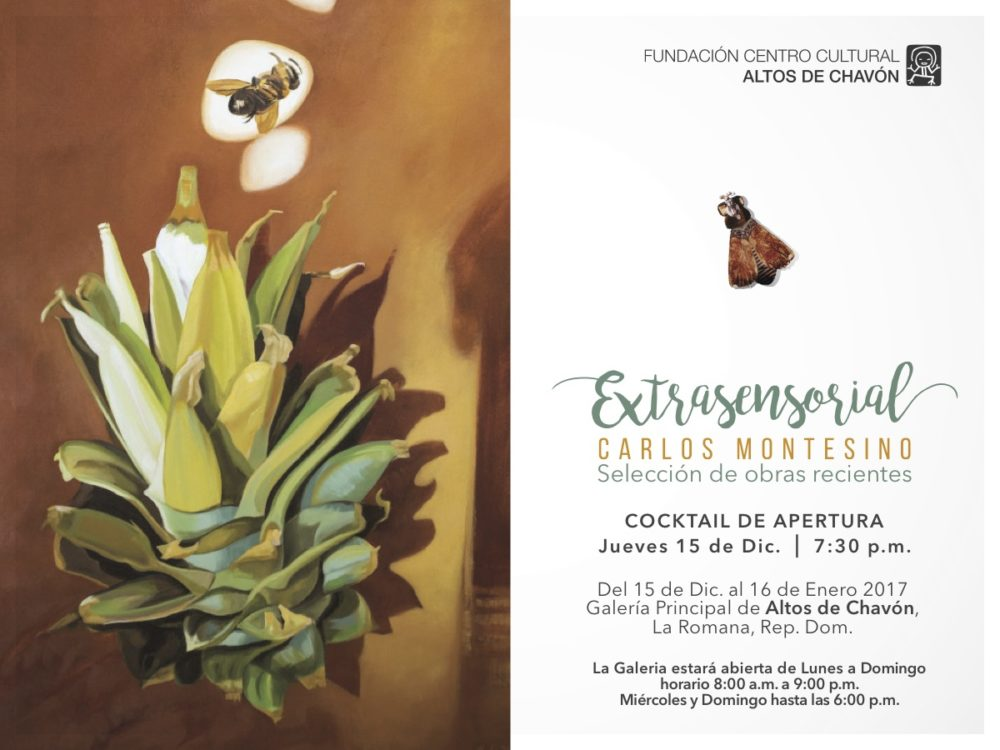 """Carlos Montesino """"Extrasensorial"""""""