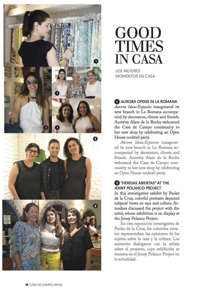 Casa de Campo Living magazine