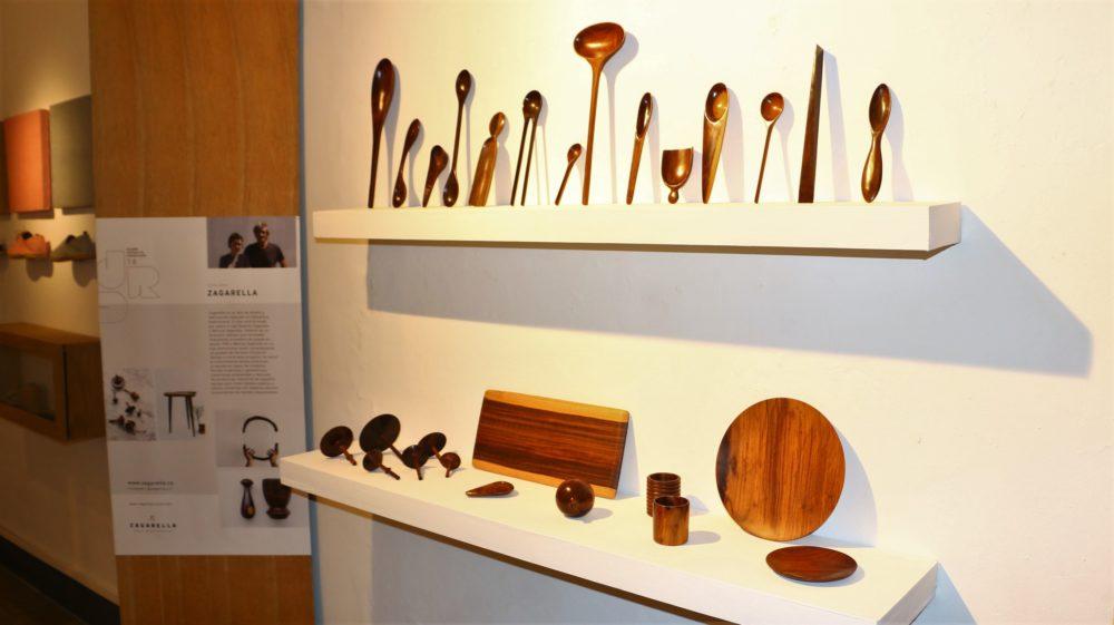 Zagarella designs at La Aldea Cultural Center