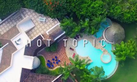 """""""Hot Top"""" filmed in Casa de Campo"""