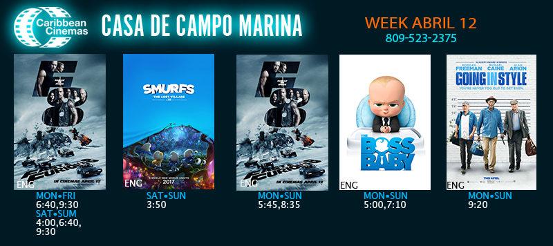 Movie Times Marina Casa de Campo