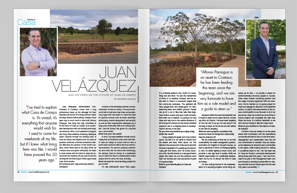 CasaLife Spring 2017 Juan Velázquez