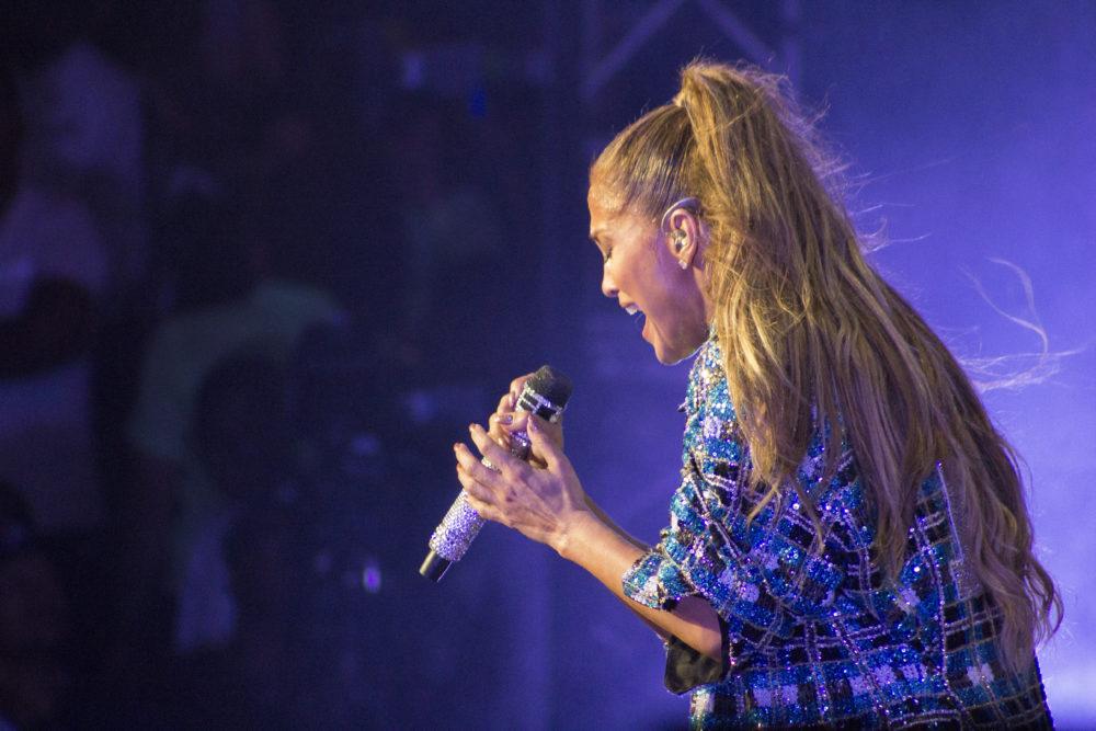 Jennifer Lopez concert 2017 Altos de Chavón