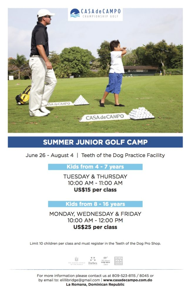 Junior Golf Summer 2017