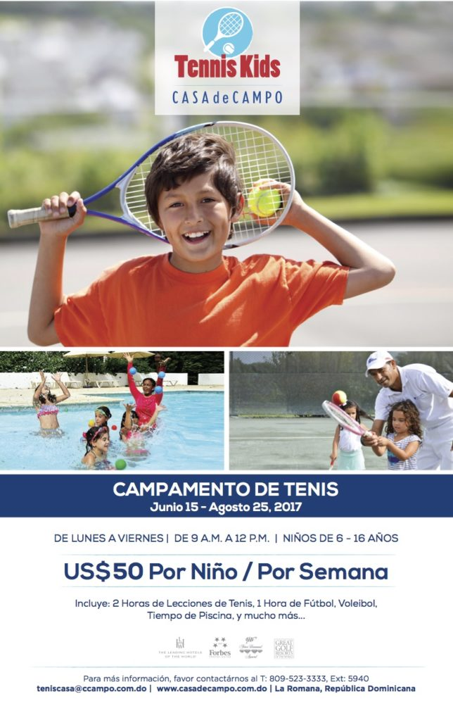 Casa de Camp Tennis Summer Camp