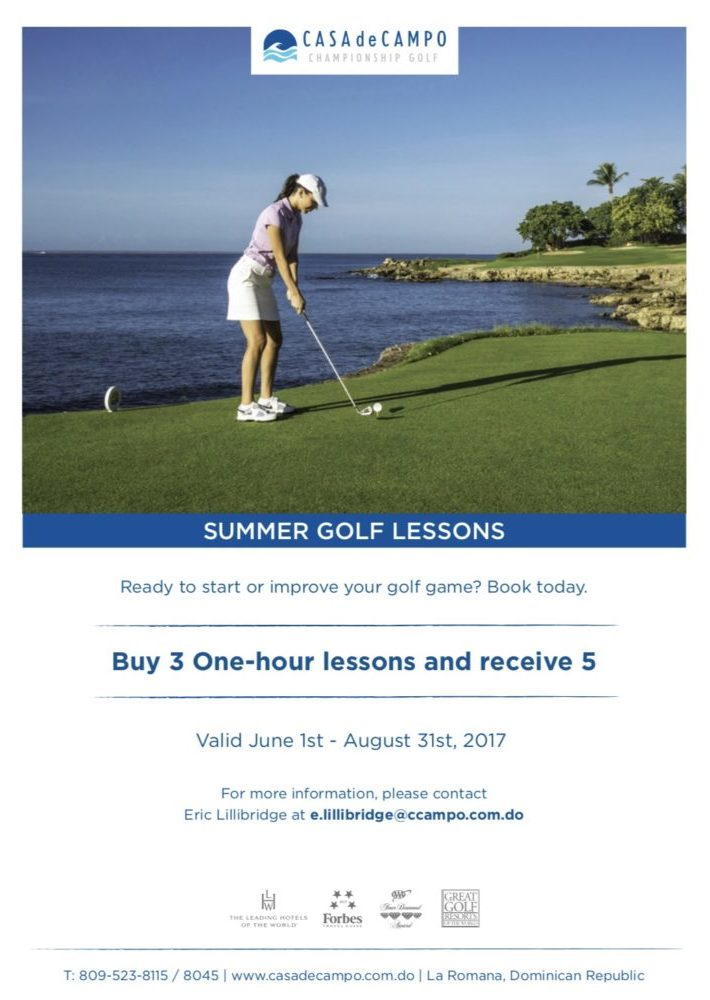 Summer Golf Lessons