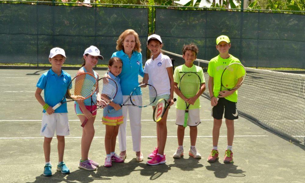 Fundación MIR Family Weekend for Life 2017 tennis clinics