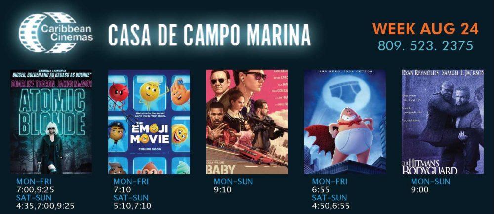 Casa de Campo movie times
