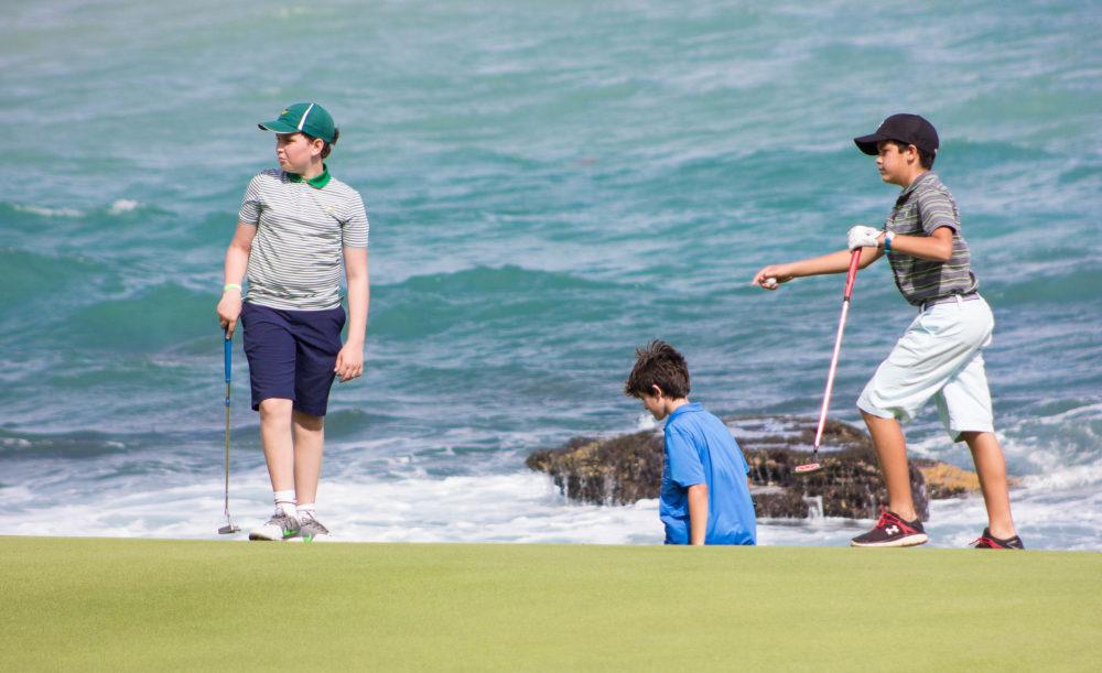 Casa de Campo golf for kids